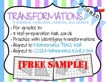 Transformations - Bilingual Bundle FREE SAMPLE