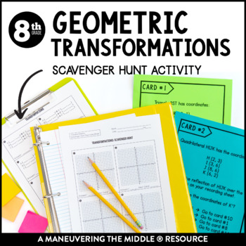 Geometric Transformations Activity