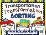 Transformations Sorting - Translation, Reflection, Rotation - Slide, Flip, Turn