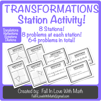 Transformations Station Activity!