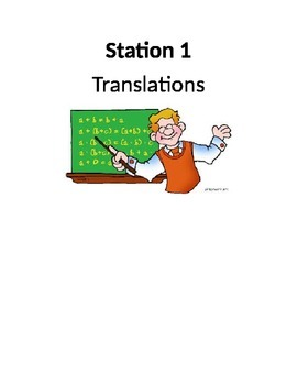 Transformations Station Activity