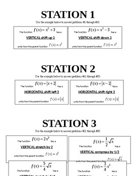 Transformations Stations