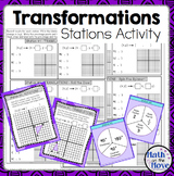 Transformations - Stations Activity