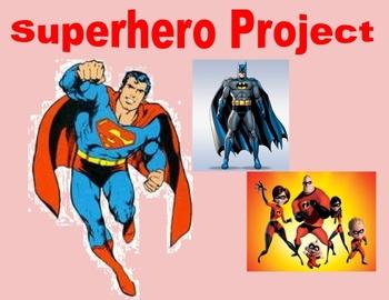 Transformations Superhero Project