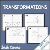 Geometric Transformations Task Cards Activity