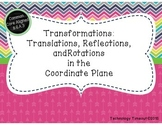 Transformations Task Cards with and without QR codes