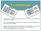 Transformations - Translations