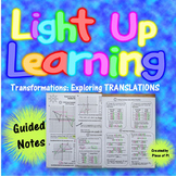 Transformations Translations Guided Notes