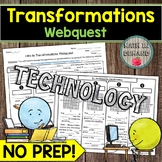 Transformations Webquest Reflection Rotation Translation D