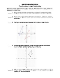 Transformations and Angle Relationships