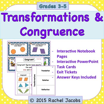 Transformations and Congruence - Geometry