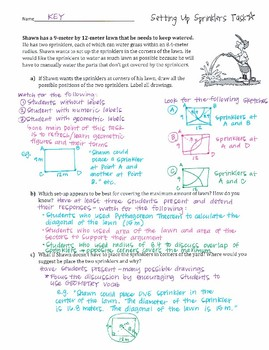 High School Math 1: Transformations in the Coordinate Plane