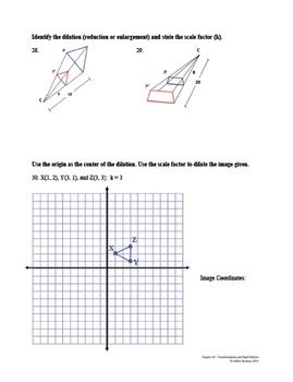 Transformations and Rigid Motion Test