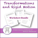 Transformations and Rigid Motion Worksheet Bundle