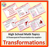 Transformations for High School Math Powerpoint