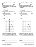 Transformations in the Coordinate Plane