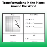 Transformations in the Plane - Four Corners Around the World