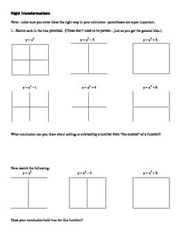 Desmos graphing calculator transformations | precalculus.
