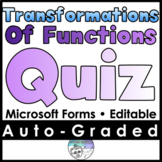 Transformations of Functions Quiz - MICROSOFT FORMS