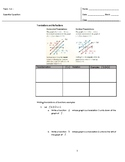 Transformations of Linear and Absolute Value Functions