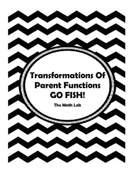 Transformations of Parent Functions - GO FISH!