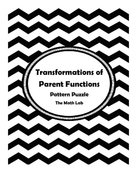 Transformations of Parent Functions Pattern Puzzle