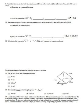 Transformations of Quadratic Functions Part 2 Spring 2013
