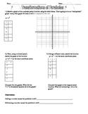 Transformations of Quadratics