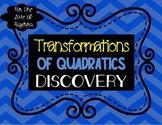 Transformations of Quadratics Notes (GSE Algebra 1)