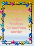 Transformations of Radical (Sq.root) Functions Cut and Pas