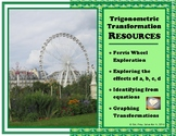 Transformations of Trigonometric Functions (Resource Packet)