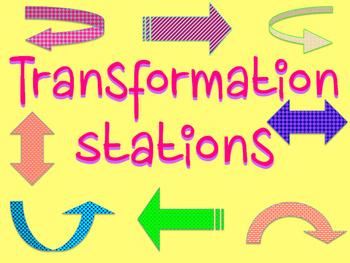 Transformations on Coordinate Plane Activity
