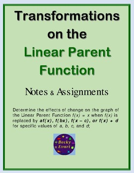 Transformations on the Linear Parent Function