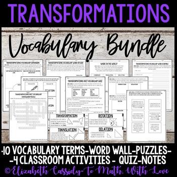 Transformations Vocabulary-Vocabulary Bundle-Vocabulary Unit