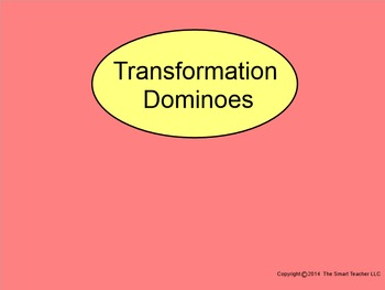 Transformations with Dominoes