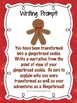 Transformed to Gingerbread! [writing freebie]