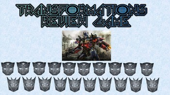 Transformers Transformation Review Game