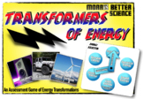 Transformers of Energy - An Energy Transformation Game