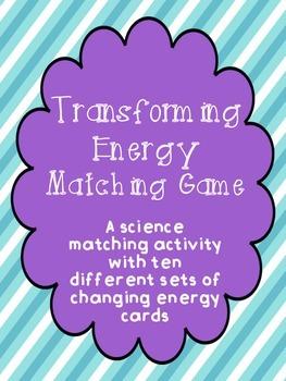 Transforming Energy Matching Game