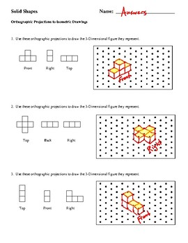 Transforming Orthographic Projections into Isometric Drawings