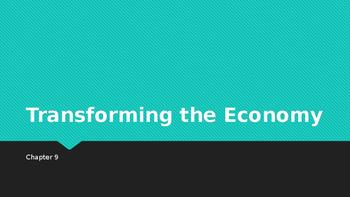 Transforming the Economy 1800 - 1860