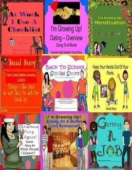 Special Education Autism 26 Social Life Skills CBI Vocational