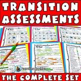 Transition Assessments Mega Bundle: IEP Planning for Life