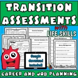 Transition Assessments Packet: Special Education Planning