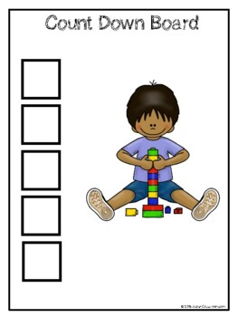 Transition Assistance - Autism Visual Supports for Classroom Transitions
