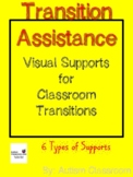 Transition Assistance - Autism Visual Count Down Board for