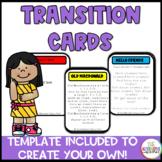 Transition Card Set: Special Education Preschool
