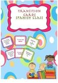 Transition Cards - Spanish