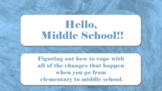 Transition Elementary to Middle School SEL LESSON 6 Vid Self-talk Study Skills