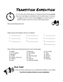 Transition Expedition Worksheet